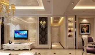室内现代客厅效果图作品