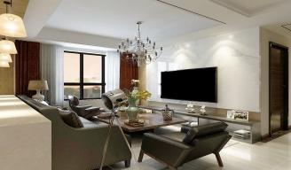 室内现代客厅装修效果图作品