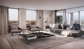 室内设计-现代轻奢客厅